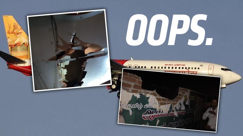 Illustration for article titled Un boeing 737 vuela durante dos horas después de golpear un muro y una torre de instrumentos mientras despegaba