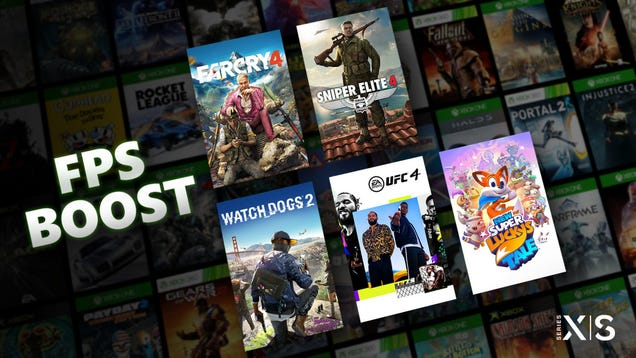 Microsoft Brings Sweet FPS Boost to 5 Older Games on Xbox Series X/S
