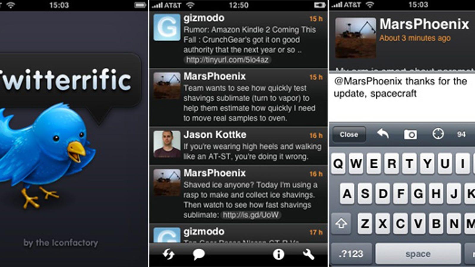 iPhone Apps We Like: Twitteriffic is Best Twitter App