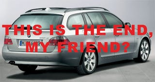 Illustration for article titled BMW 5 Series Gran Turismo May Spell End For U.S. Wagon