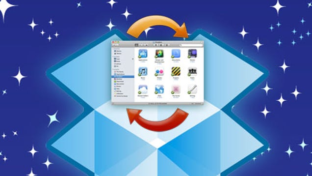 how to create a dropbox folder on mac