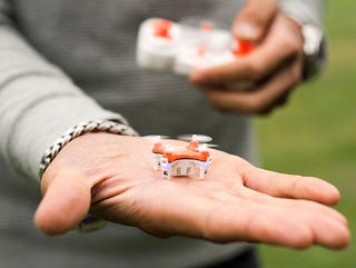 Illustration for article titled Save Over 25% On The SKEYE Pico: The World's Smallest Drone