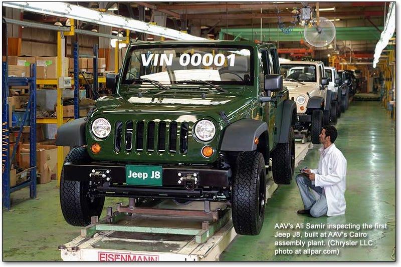 Illustration for article titled TIL - Jeeps made in Egypt.