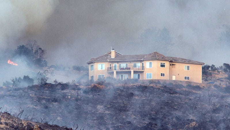 Illustration for article titled Bel-Air Homeowners Association Issues Fine To Resident With Unapproved Wildfire In Front Yard