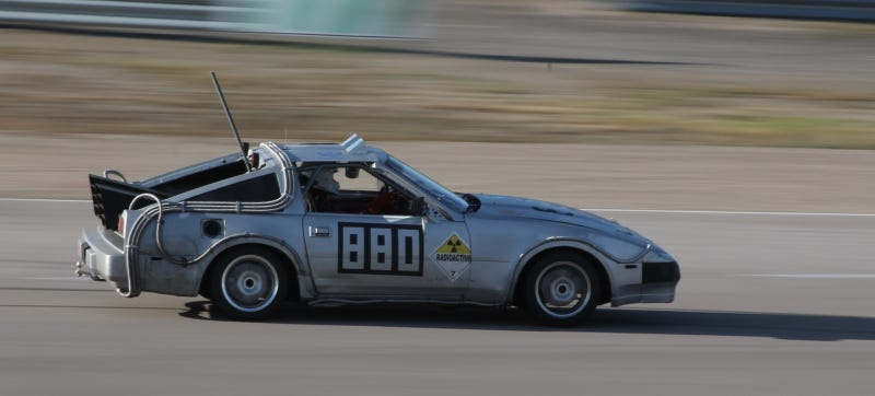 Illustration for article titled When Some Of These 24 Hours Of LeMons Cars Hit 88 MPH, It's Just A Miracle