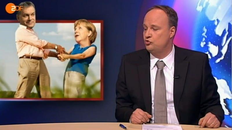 Illustration for article titled Fasiszta Magyarország a német Daily Show-ban