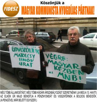 Illustration for article titled Köszöntöm a Magyar Kommunista Nyugdíjas Pártot!
