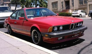 Illustration for article titled 1987 BMW M6