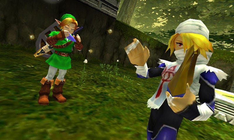 Illustration for article titled The Legend of Zelda: Ocarina of Time 3D Will Look This Good In June