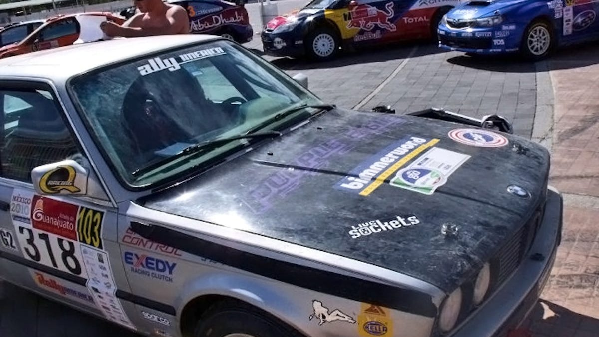 How A $500 Craigslist Car Beat $400K Rally Racers