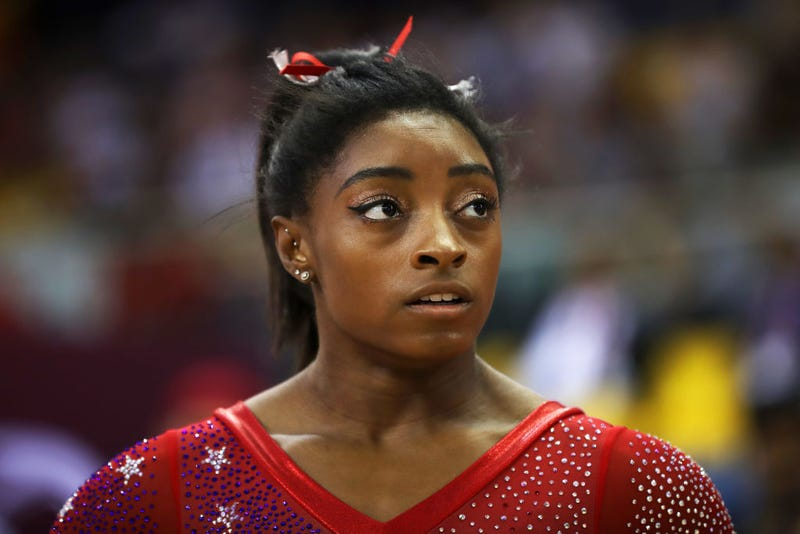 Illustration for article titled Gymnast Simone Biles Is Made of Vibranium; Leads Team USA to Gold With a Kidney Stone