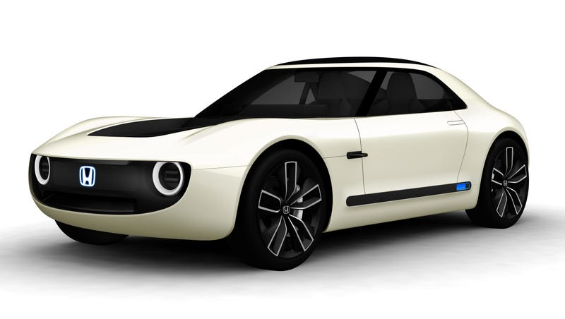 Honda Sports EV Concept - Awesome retro electric sports vehicle debuts in Tokyo