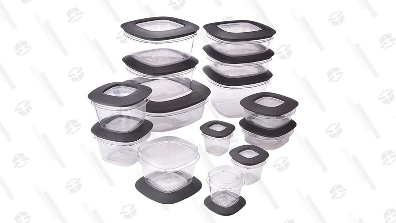 Rubbermaid Premier Easy Find Lids 28-Piece Food Storage Container Set | $31 | Amazon