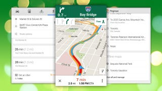 Illustration for article titled Google Maps Adds Better Navigation, Offline Maps, and Tons More