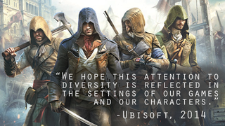 Illustration for article titled ​Why Assassin's Creed Unity's Controversy is a Controversy