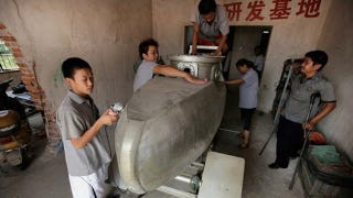 Illustration for article titled Homemade Submarines Are Being Made By a Man in China