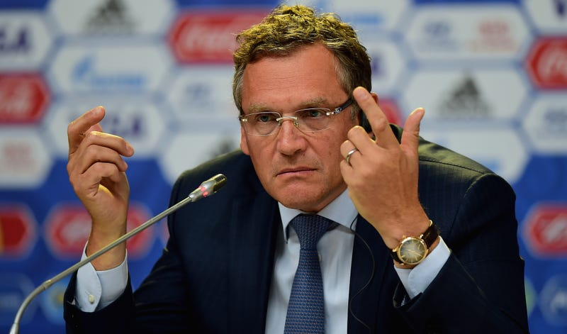 Illustration for article titled FIFA Secretary Jérôme Valcke Suspended For Alleged Ticket Selling Racket