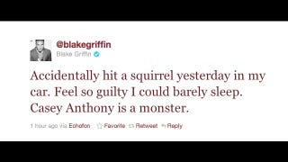 Illustration for article titled Blake Griffin Made The First Non-Asinine Athlete-On-Current-Events Tweet In History