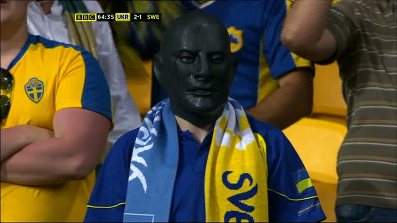 Illustration for article titled Ukraine's 2-1 Comeback Win Left This Swede Feeling Black In The Face
