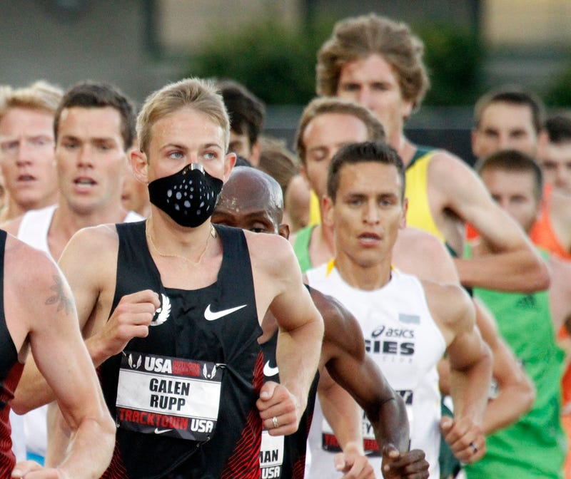Illustration for article titled Galen Rupp Mask Forecast: High, With A Chance Of Stupid Photos
