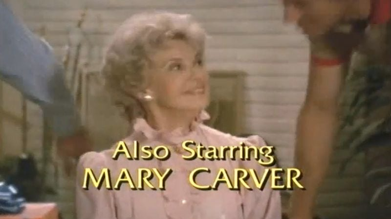Illustration for article titled R.I.P. Mary Carver, actress from Simon & Simon and Gunsmoke