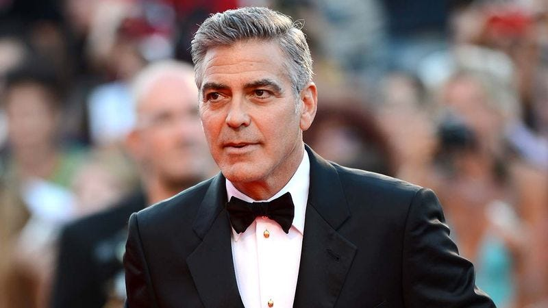 Illustration for article titled 6 Increasingly Blurry Pictures Of George Clooney To Help You Get Used To The Idea That He's Not Always Going To Be Around