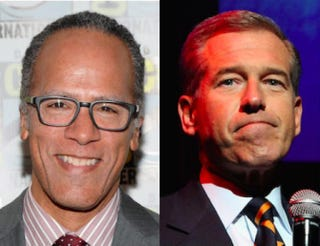 Lester Holt; Brian WilliamsEthan Miller/Getty Images; Monica Schipper/Getty Images