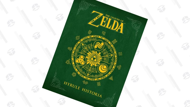 Legend of Zelda Hyrule Historia   $17   Amazon