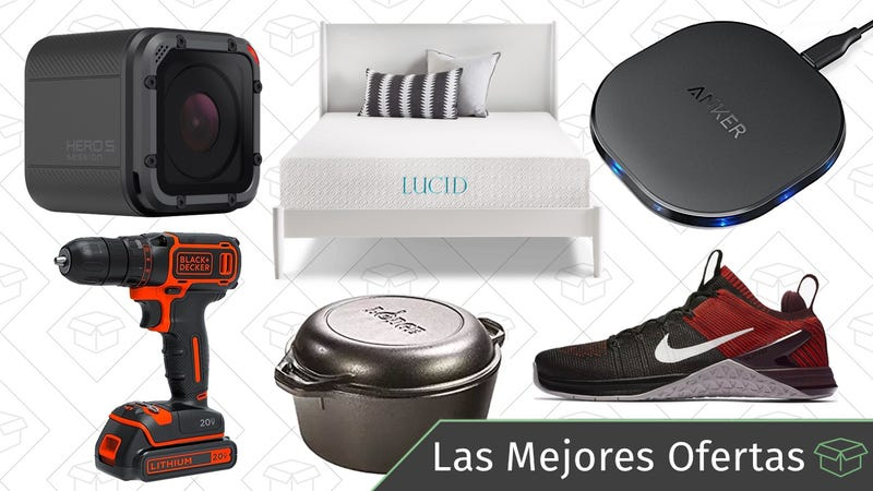 Illustration for article titled Las mejores ofertas de este martes: Rebajas en Nike, cazuela de hierro, Gold Box de colchones y más