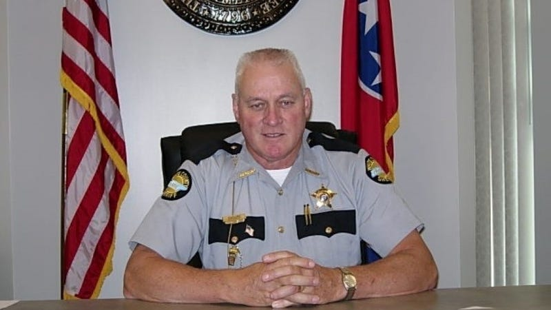 Sheriff Oddie Shoupe (White County,Tenn., Sheriff's Office)
