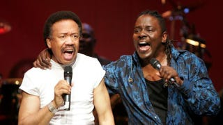 Maurice White and Philip Bailey of Earth, Wind & Fire in 2004Carlo Allegri/Getty Images