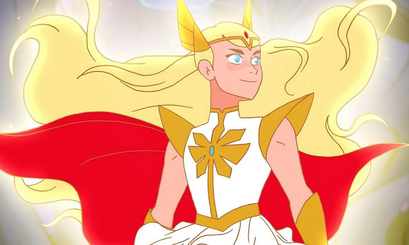She-Ra, in all her power.