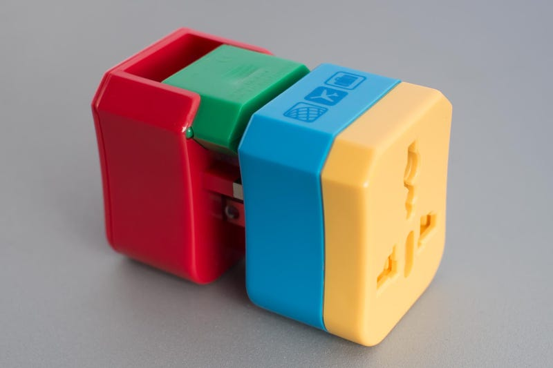 Illustration for article titled Get 10% Off This Smart, Compact Travel Plug Adapter