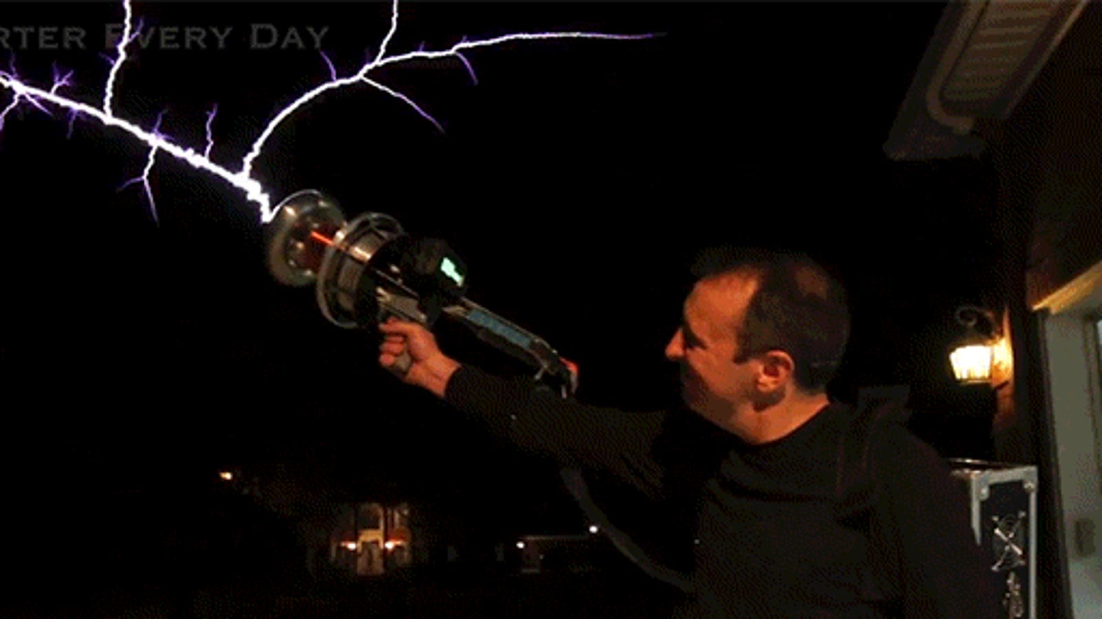 Shooting A Tesla Coil Gun Is Some Real Ghostbusters Shit Another Coilgun Site