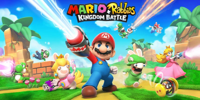Illustration for article titled Ubisoft pregunta en una encuesta si estaríamos interesados en un Mario + Rabbids Battle Royale