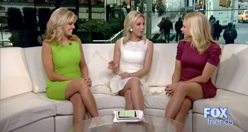Illustration for article titled Inspiring: Fox News Breaks Mold, Chooses Blonde Woman As New Fox & Friends Host
