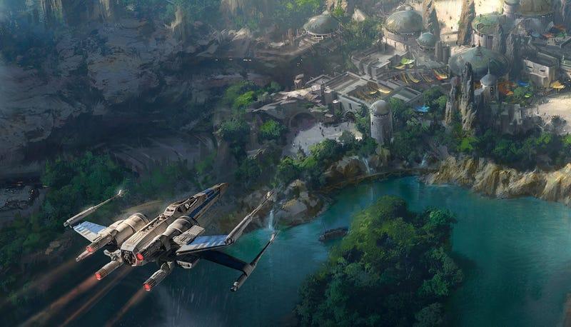 Illustration for article titled Así será la ampliación de Star Wars en Disneylandia: del Halcón Milenario a una mítica cantina