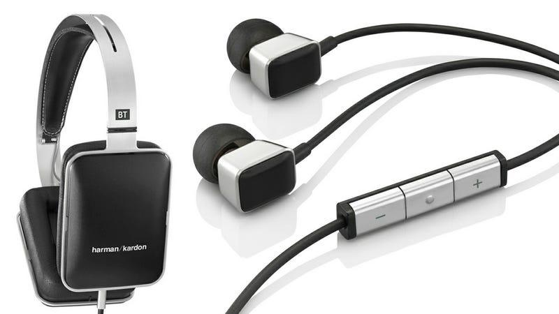 Illustration for article titled Harman Kardon BT and AE Headphones: Minimal Naming Matches Minimal Aesthetics