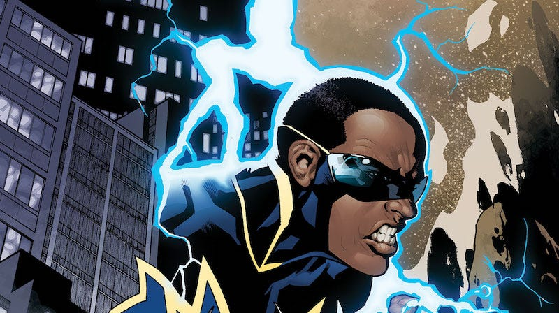 Illustration for article titled Report: Greg Berlanti's Pitching a Black Lightning Show to Networks