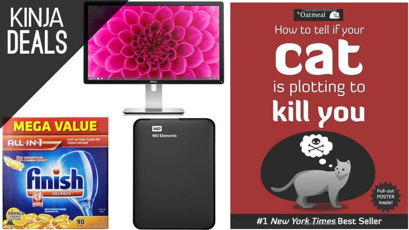 Illustration for article titled Sunday's Best Deals: 4K IPS Display, Kindle Comics, Dish Soap, & More