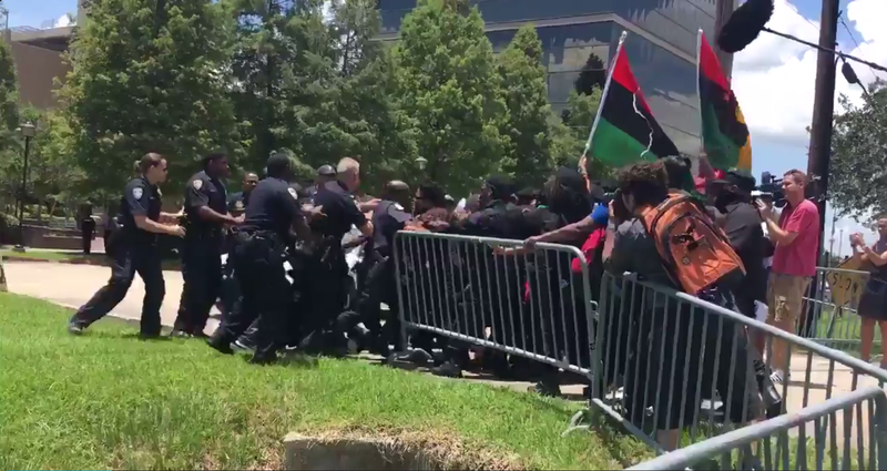 7 arrested during protest at BRPD headquarters