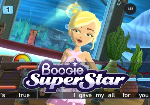 They've got a brand new game coming to the Nintendo Wii, and it's just for you! Boogie Superstar allows girls to sing and ...