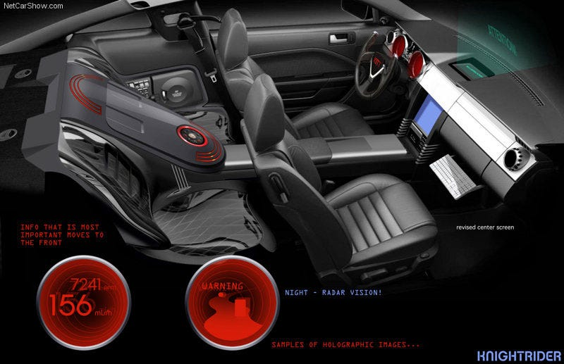 Knight Rider iPhone-Inspired Interior Officially Revealed
