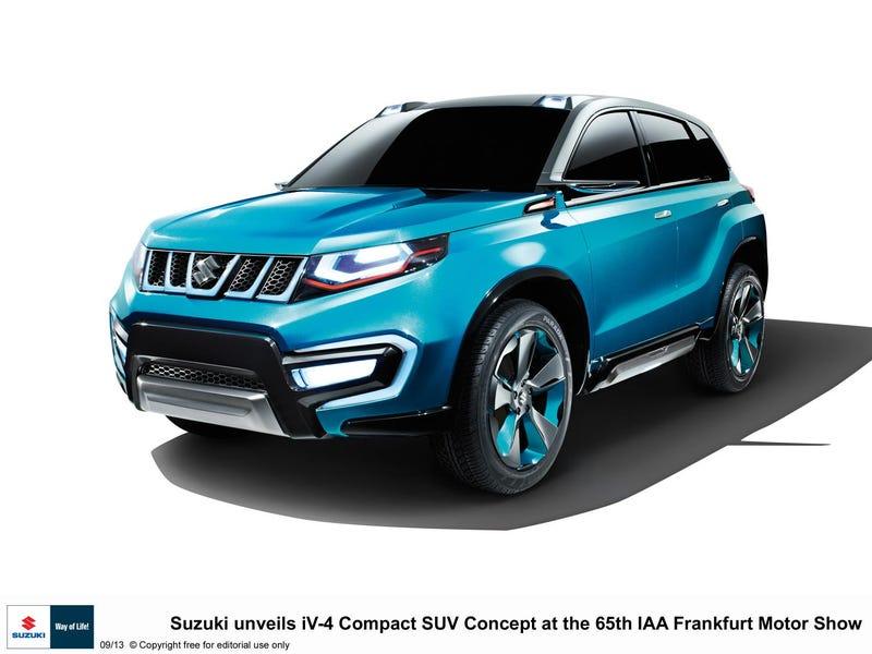 Iv Suzuki S New Compact Suv Concept Model