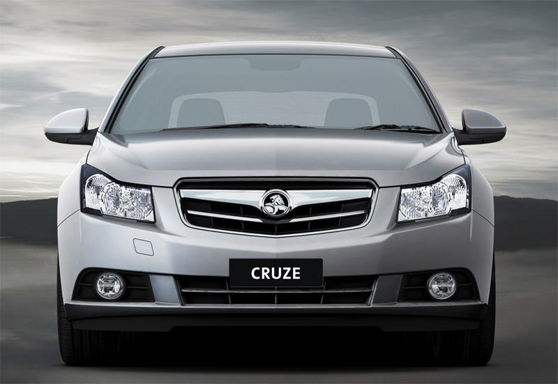 Illustration for article titled 2009 Holden Cruze: Econobox Heads Down Under