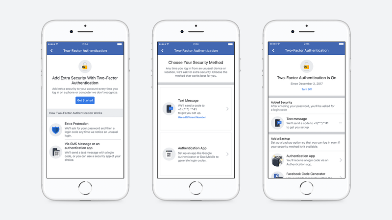 Facebook Won't Force You to Use a Phone Number for Two