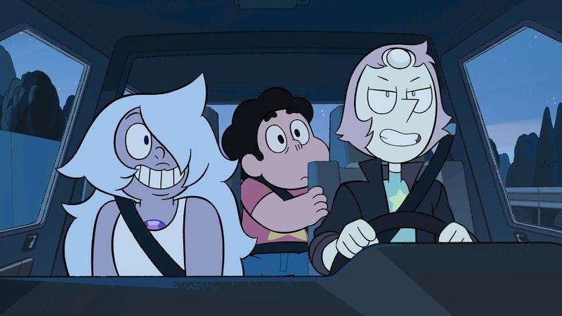 Past Pearl Steven Universe
