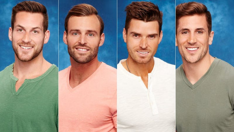 Illustration for article titled I'm Convinced That the Remaining Bachelorette Contestants Are Quadruplets