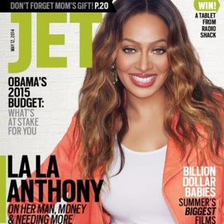 A recent issue of Jet magazineTwitter