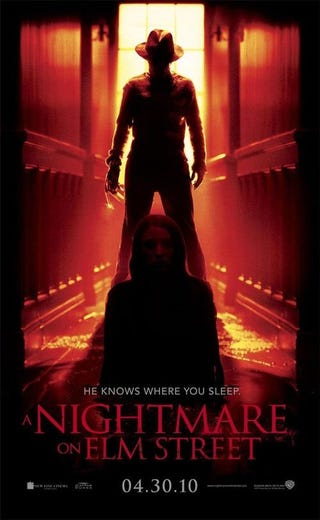 Illustration for article titled Nightmare on Elm Street Poster